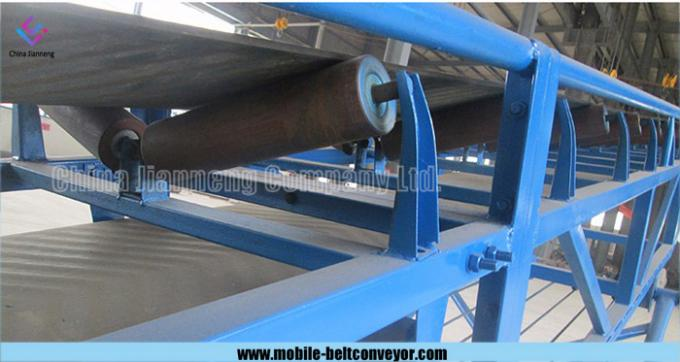 Multi - Stage Extendable Telescopic Belt Conveyor 220V - 440V For Mining