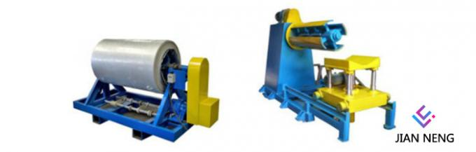 Galvanized Floor Deck Roll Forming Machine For Industrial Building