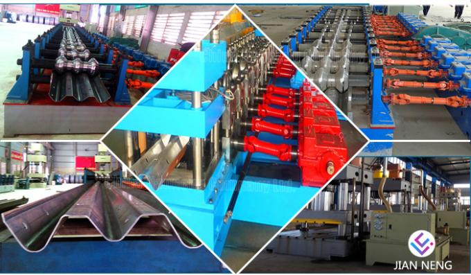 Metal Sheet Galvanized Roll Forming Machine Two Or Three Waves 13.5*1.85*1.6mm