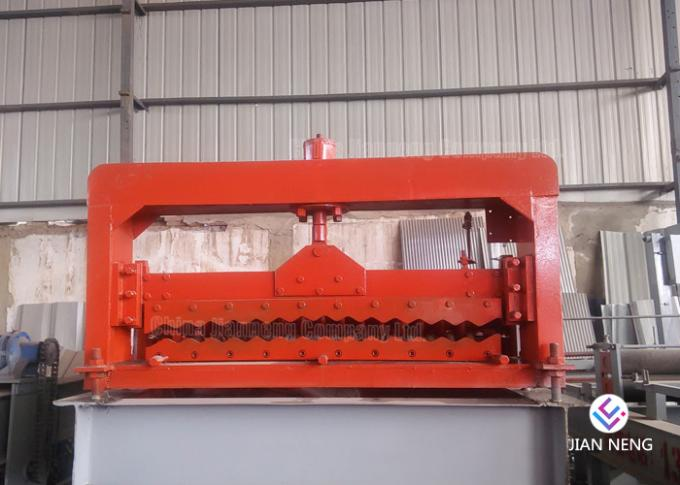 Corrugated Color Steel Roofing Sheet Roll Forming Machine 8~12m/min
