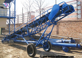 China Horizontal Or Inclined Belt Conveyor For Truck Loading For Industry Handling supplier