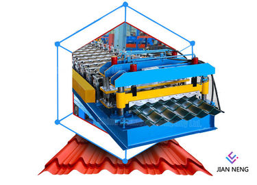 China Customized Roll Forming Equipment 15 M/Min Speed Aluminium Roofing Sheet Making Machine supplier