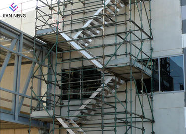 China Industrial Project Scaffold Stair Tower With Socket And Spigot Joints supplier