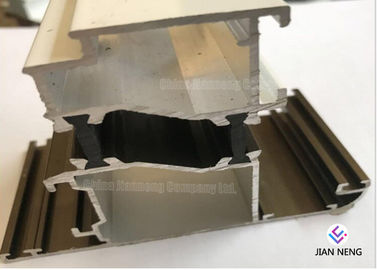 China Construction Sliding Aluminum Window Profile With Powder Coated / Double Glazed supplier