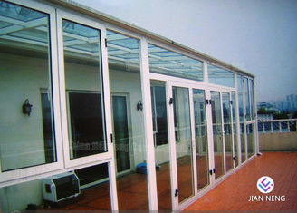 China Fireproof Thermal - Break Aluminium Windows And Doors With Clear Glass supplier