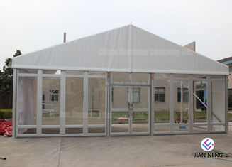 China Windproof Aluminum Wall Tent Frame Steel Frame With Plating Processing supplier
