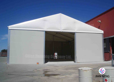 Temporary Aluminum Frame Workshop Outdoor Warehouse Tents Max. Wind Load 100 ~ 120km/H