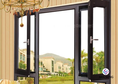 China Aluminium Fixed And Awning Windows And Casement Doors With Stainless steel 304# Flyscreen supplier