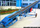 Portable High Capacity Mobile Conveyor Belt System With Adjust Height