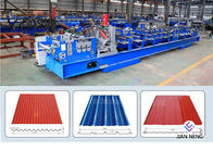Good Quality Mobile Conveyor Belt System & Color Steel Metal Glazed Roll Forming Equipment For Outdoor Decorate on sale