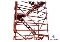 Good Quality Mobile Conveyor Belt System & 2500X1200mm Highways Scaffold Stair Tower Good Overall Stability With Twin Guardrail on sale