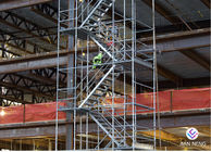 China Kwikstage / K - Stage Industrial Scaffold Stair Tower 2.5m *1.2m With Handrail factory
