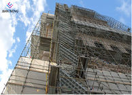 China 2.5*1.2*3m Thicker Antiskid Stairway Access Tower For High Altitude Construction factory