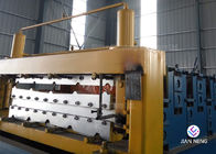 China Cladding Profile IBR Metal Roofing Sheet , Wall Panel Roll Forming Machine PLC Control factory