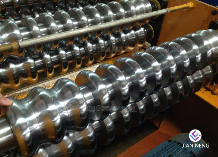 Cast Iron Rolls For Roll Forming Machine , Metal Roof