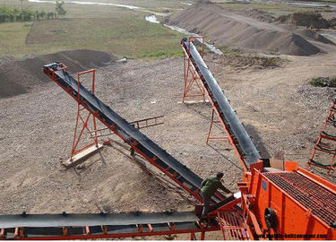 Long Distance Mobile Conveyor Belt System For Materials Transpotation