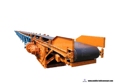 Flexible Lifting Roller Telescopic Belt Conveyor For Material Delivering