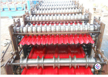 Color Steel Rolling Machine , Metal Rolling Machine For Making Sheet Roof