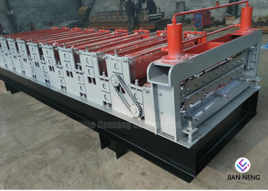 China Color Metal Profile Roofing Sheet Metal Roofing Machine With 3 Groups Rollers factory