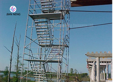 Socket And Spigot Joints Type Scaffold Stair Tower For Chimneys Water Towers