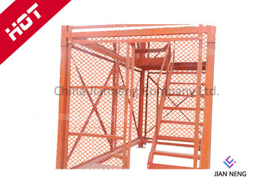 Box Type Ladders And Scaffold Towers , Lightweight Scaffold Tower With Satety Protecting Netting