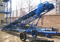 Horizontal Or Inclined Belt Conveyor For Truck Loading For Industry Handling