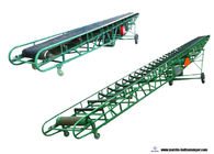 Construction Industry Portable Belt Conveyor Systems With Smooth Belt Surface